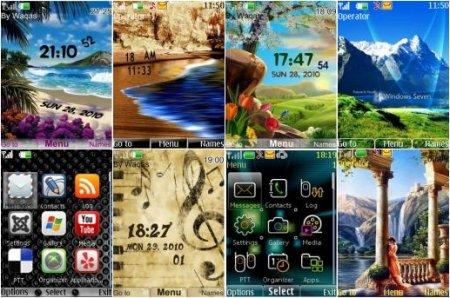Бесплатно темы для мобильного телефона скачать